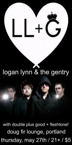 Logan Lynn & The Gentry @ Doug Fir Lounge, May 27th 2010