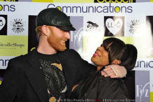 "Logan Lynn & Tahoe Jackson on the red carpet @ ""Cassell On Earth"" (2010)"