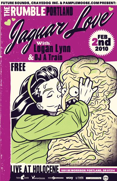 The Rumble: Portland (2/2/2010): Holocene: Jaguar Love, Logan Lynn, DJ A Train